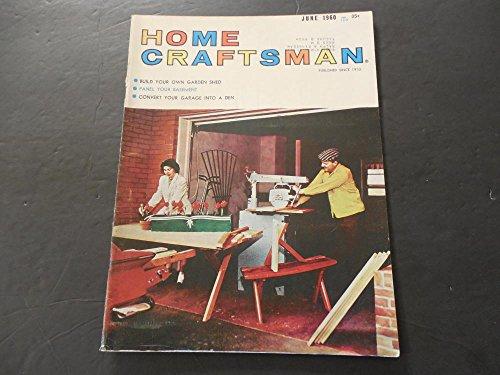 Craftsman Magazine Table - Home Craftsman Jun 1960 Garage Conversions; Garden Shed; Coffee Table