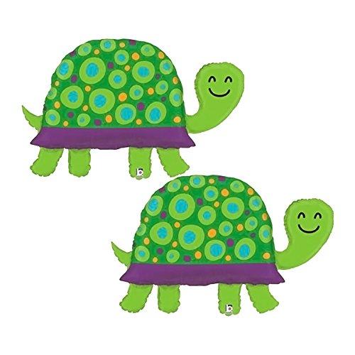 Set of 2 Garden Turtle Jumbo 40