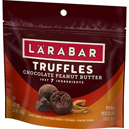 LARABAR Truffles, Chocolate Peanut Butter, 5.3 oz. (6 Pouches)