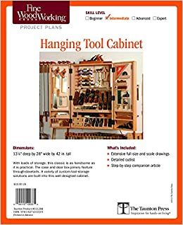 Fine Woodworking S Hanging Tool Cabinet Plan Fine Woodworking