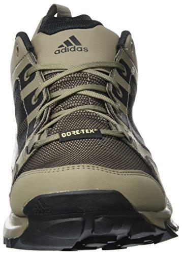 Adidas Uomini Kanadia Trail Gtx 7 Tr Scarpe Da Corsa Multicolore (grigio Utility / Interno Nero / Marrone Semplice)