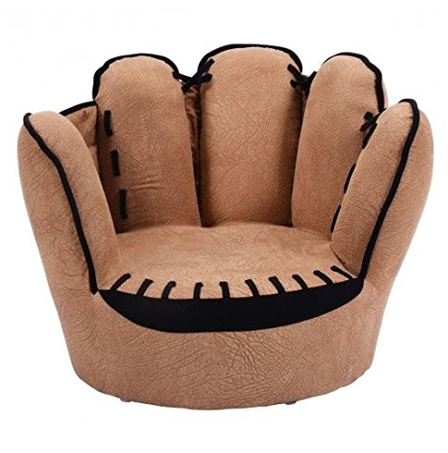 MD Group Kids Sofa Five Fingers Baseball Glove Shaped Light-weight Comfortable Seat by MD Group