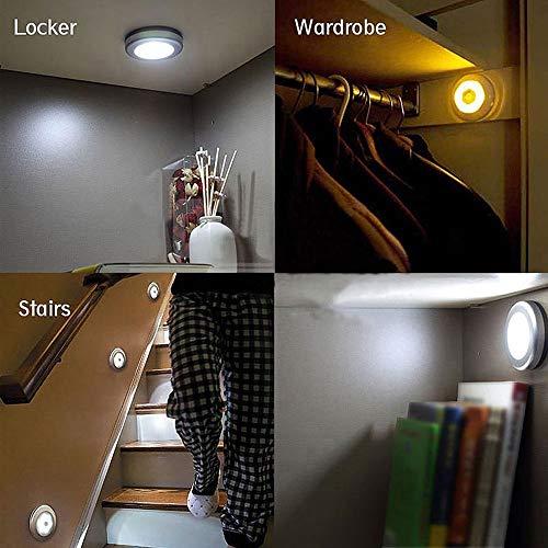 LiPing LED Wireless Sensor Light Wall Wardrobe Drawer Wall School Gift