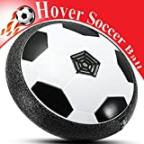 Heroes Kids Toys, Hover Soccer Ball LED Light, Soft Foam Bumper, Size 4, Great Children, Boys, Girls, Indoor & Outdoor Sports Games Parents, Funny Football Gift