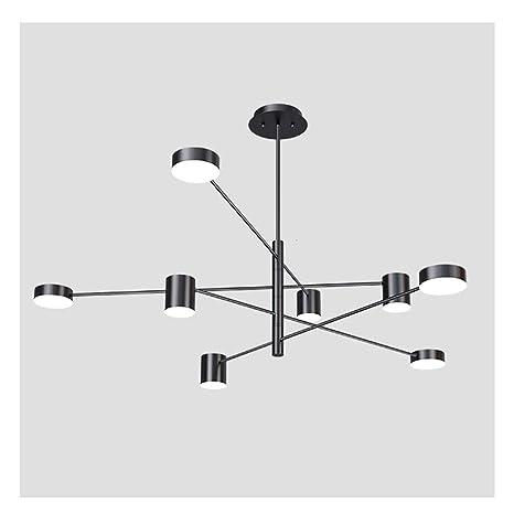 Araña WFL-Decoración de iluminación Hierro Arte Lámpara de ...