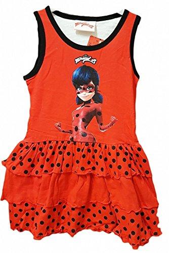 uomo vendita online varietà larghe ladybug abbigliamento miraculous vestito bambina estivo ...
