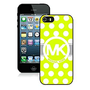 MK46T Durable Design MK's Black Cell Phone Case for iPhone 5/5s 5th Generation A2 023