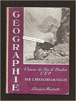 Amazon Fr Livre Scolaire Geographie Classe De Fin D