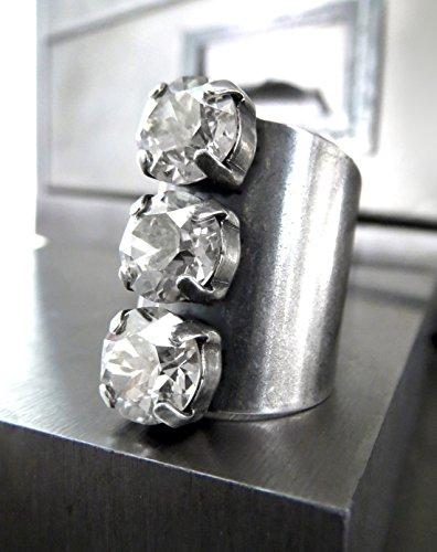 Antiqued Diamond Band - 8