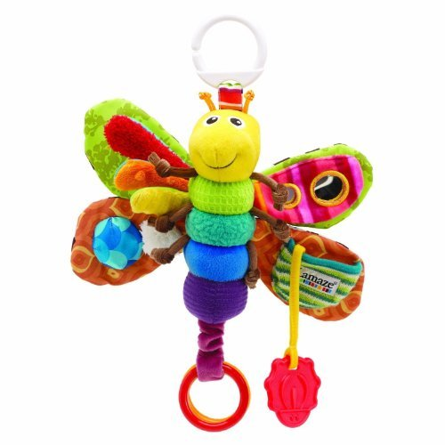 Best Review Of Lamaze Play and Grow Freddie the Firefly Butterfly Attach to Stroller/bed