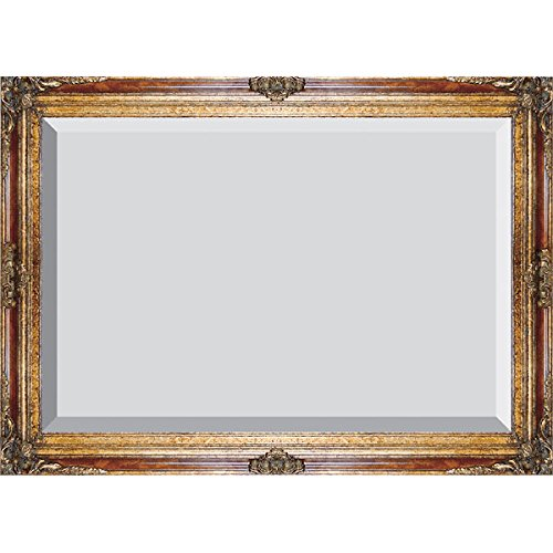 Antique Marble Finish (Timeless Reflections by AFD Home 10041535  Timeless Reflections Grand Victorian Mirror, Mini, Burl Marble/Gold)