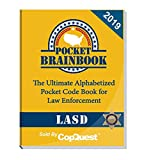 Pocket Brainbook - Los Angeles Sheriff's Department Edition - 2019