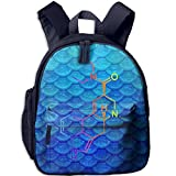 LSD Molecule Acid Psychedelic Chemistry Children 3D Printed Schoolbags Portable Bookbags Backpacks