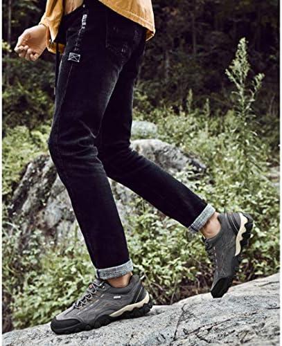トレッキングシューズ 登山靴 メンズ ハイキングシューズ 防水 防滑 通気性 耐磨耗 アウトドア スエード スニーカー 衝撃吸収 アウトドアシューズ トレッキング ローカット ハイキング メンズシューズ 登山