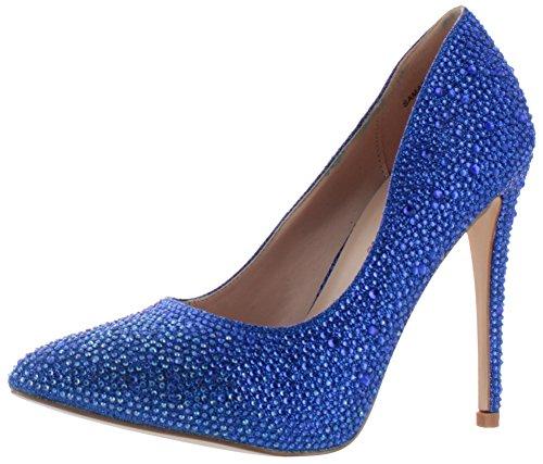 Lauren Lorraine Samantha Femmes Pompes Robe Chaussures Bleu Taille 6.5