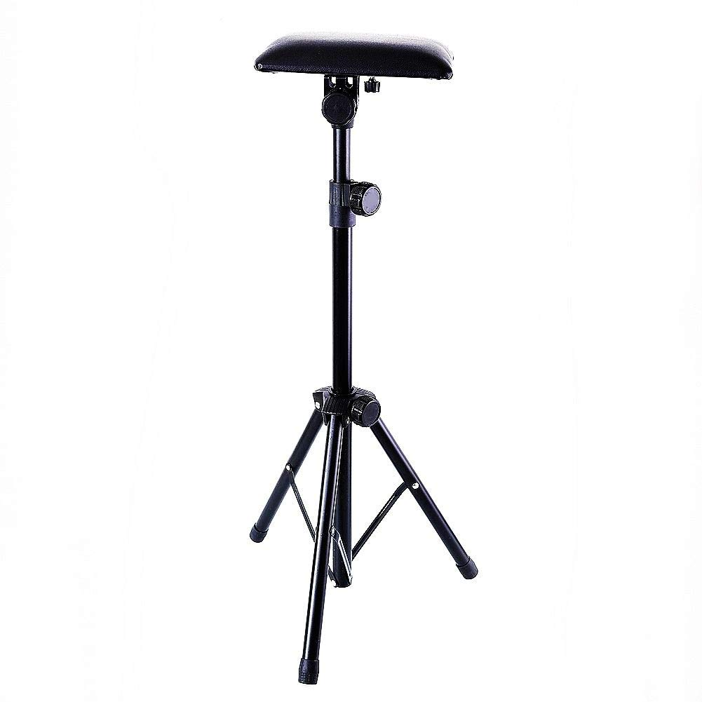 Tattoo Armrest,New Star Tattoo Foldable Sponge Pad Arm Leg Rest Stand Tripod with Adjustable Height for Tattoo Supplies PVC Leather Stands Studio Chair Stand by new star tattoo