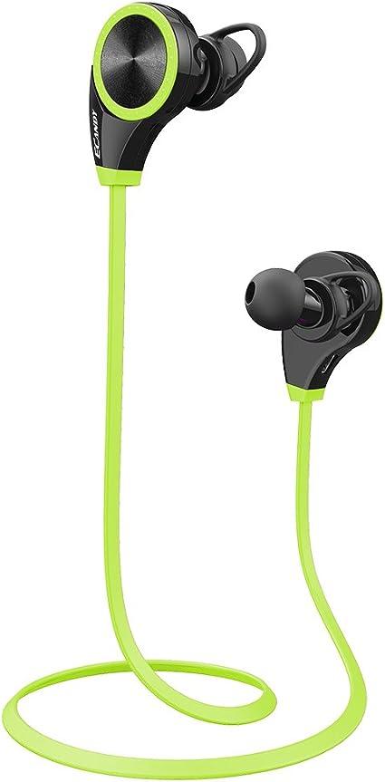 Auriculares estéreo inalámbricos Ecandy Bluetooth 4.0 para ...