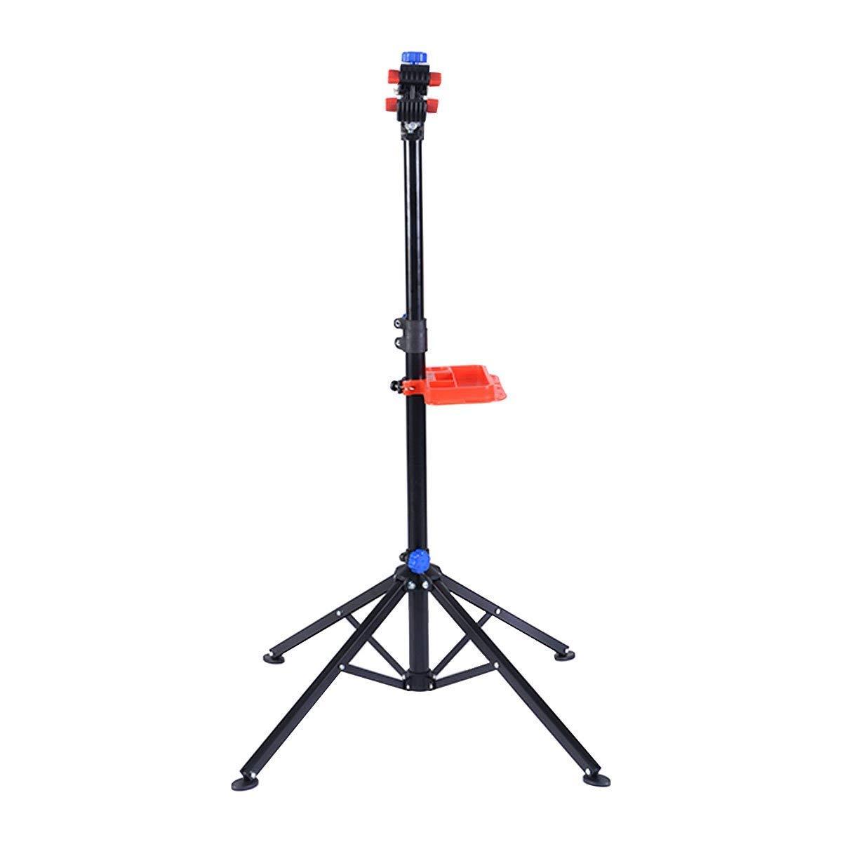 COSTWAY Support de R/éparation pour V/élos Stand de R/éparation pour Les V/élos/Charge Max/30 kg Pied datelier V/élo Pivotant /à 360 Degr/és Hauteur R/églable