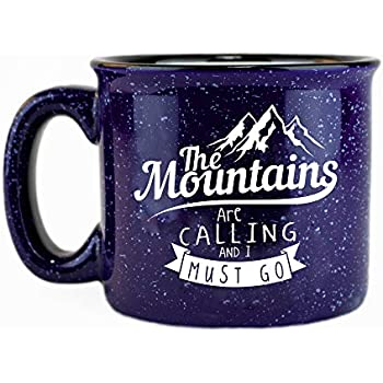 Adventure Enamel Camping Mug