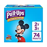 Pull-Ups Learning Designs Potty Training Pants for Boys, 2T-3T (18-34 lb.), 74 Ct. (Packaging May Vary)