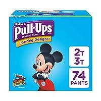 Pantalones de entrenamiento Pull-Ups Learning Designs para niños, 2T-3T, 74 Count (el empaque puede variar)