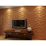 Plant Fiber Rex Design 3D Wall Panels (Case of 10)