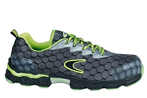 Cofra Scarpe Antinfortunistiche Lowball Grey/Lime S1 P-45