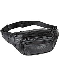 Genuine Leather Lambskin Waist Bag, Fanny Pack