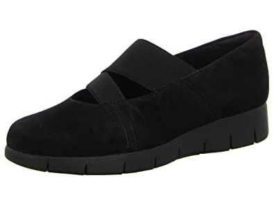 Clarks Daelyn Villa, Low Sneakers Women Black Size: 2.5 UK