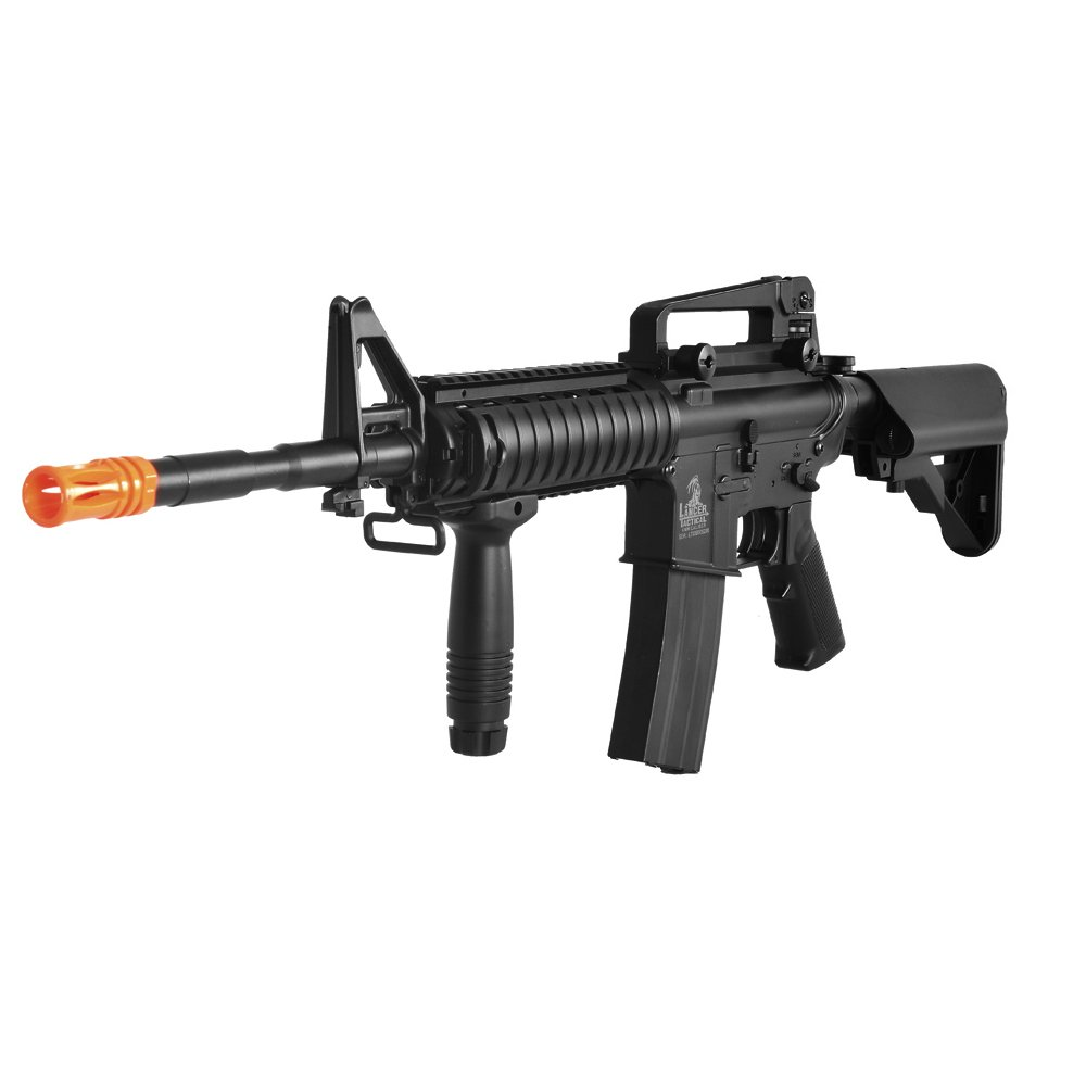 Lancer Tactical LT-04B SOPMOD M4 AEG Metal Gear (Negro LT-04B)