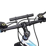 West Biking Double Mountain Bike Handlebar Extender Aluminum Alloy Expander Bicycle Speedometer Mount Headlight Flashlight Lamp Holder