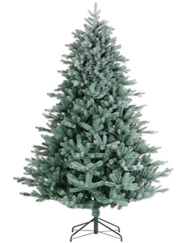 Artificial Christmas Tree. Fake Xmas Tree Looks Real, Natural. for Indoor, Outdoor, Home, Yard, Patio, Backyard, Gazebo, Front Porch, Deck Holiday Season Party Decor (9ft/2734tips, Green2)