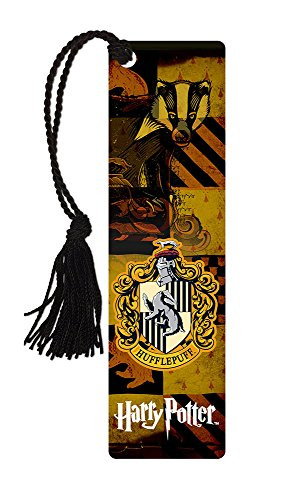 Harry Potter Bookmark - Hufflepuff House - with tassel