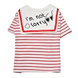 Neodot Striped Dog Shirts Pet Dog T-shirts Cotton Made Dog Summer Clothes for Small Dogs Review