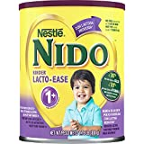 NESTLE NIDO Kinder Lacto-Ease 1+ Reduced Lactose Fortified Powdered Milk Beverage 1.76 lb. Canister