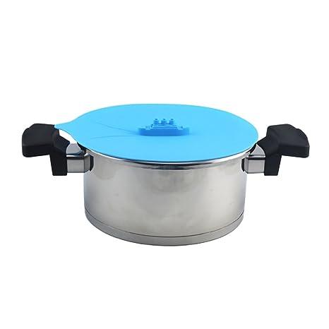 Ocathnon vapor nave silicona vapor Tapa silicona succión y alimentación cubierta tapa/salpicaduras protector,
