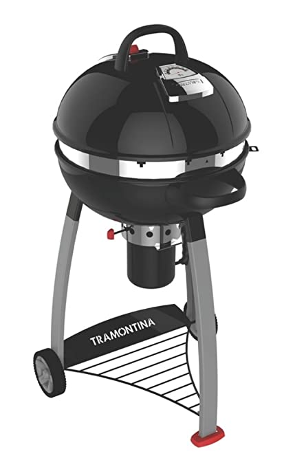TRAMONTINA charcoal Churrasco for mobile lid Sphere barbecue grill diameter 55cm TCP560
