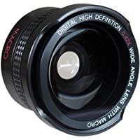 Super Wide Hi Definition Fisheye Lens For Nikon 1 AW1 J5 (40.5mm Compatible)