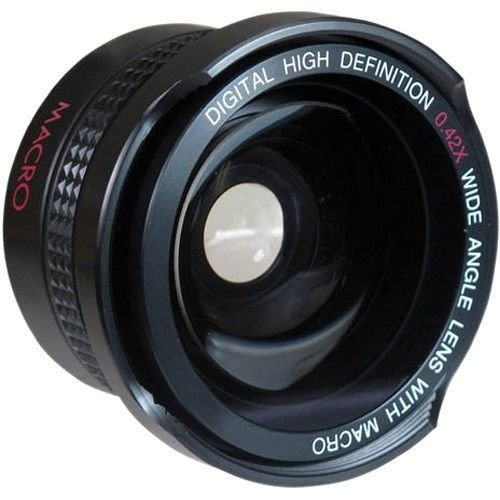 Super Wide Hi Definition Fisheye Lens For Nikon 1 AW1 J5 (40.5mm Compatible) pro series