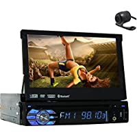 3D GPS Car Stereo Electronics single din Car PC Multimedia CD MP3 MP4 Head Unit In Dash Video Auto DVD Player Autoradio Radio Detachable TFT Touch RDS logo iPod Steering Wheel control Remote control
