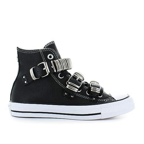 Zapatos De Star Buckle Converse Punk Mujer Zapatilla Negro All Metal dtsQrxhCBo