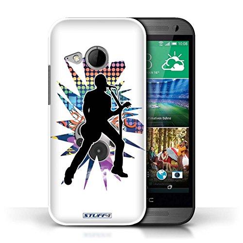 Etui / Coque pour HTC One/1 Mini 2 / Chanteur Blanc conception / Collection de Rock Star Pose