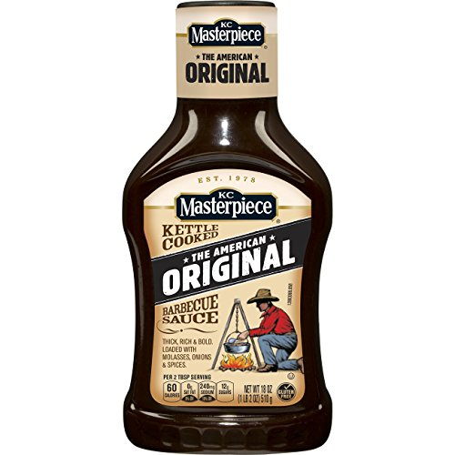 KC Masterpiece Barbecue Sauce, Original, 108 Ounce
