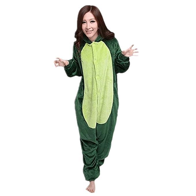Misslight pijama o disfraz de unicornio unisex para niño o adulto dinosaurio Small