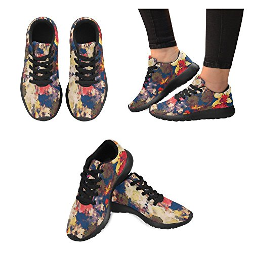 Womens 10 InterestPrint Lightweight Cross Sports Walking Running Sneakers Multi Jogging Trail Trainer Shoes Athletic UwqwCda