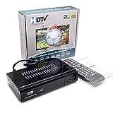 Hanbaili Digital TV Converter Box, (US Plug)AV HDMI HD Video Audio TV Box