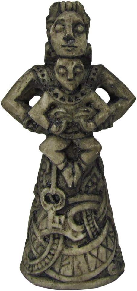 Dryad Design Norse Goddess of The Hearth Frigga Figurine - Stone Finish