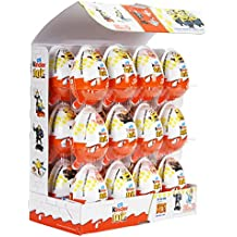 New Kinder Joy Chocolate - Get the New Despicable ME3 Surprise Toy - Pack of 24