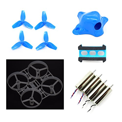 Betafpv 75mm tiny whoop frame kits with 3 blades props for Lumenier tiny whoop motors