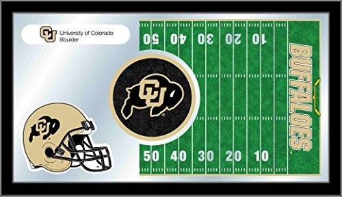 Buffalo Case Football Display (Holland Bar Stool Company NCAA Colorado Buffaloes 15 x 26-Inch Football Mirror)